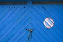 ¡Ningún estacionamiento aquí! Foto de archivo libre de regalías