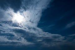 ¡Nubes! Fotografía de archivo