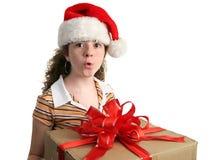 ¡Ooooo un presente! Imágenes de archivo libres de regalías