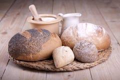 ¡Pan de la hornada! Fotografía de archivo