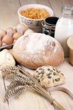 ¡Pan de la hornada! Imagen de archivo libre de regalías
