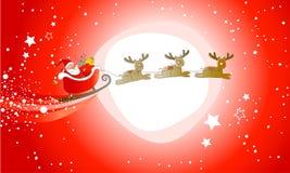 ¡Papá Noel está viniendo! Foto de archivo libre de regalías