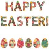 ¡Pascua feliz! stock de ilustración