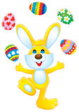 ¡Pascua feliz! Foto de archivo