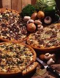 ¡Pizza! Imagenes de archivo