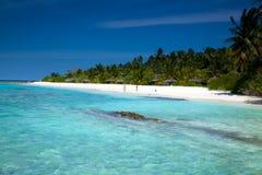 ¡Playa ideal tropical hermosa! Foto de archivo libre de regalías