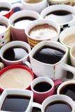 ¡Porciones de café! foto de archivo libre de regalías