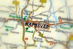 ¡R, Hungría - Europa de Kaposvà fotografía de archivo libre de regalías