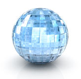 С¡rystal ball on white background Royalty Free Stock Image