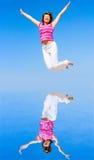 ¡Salto! ¡salto! Foto de archivo