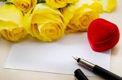 ¡Sea mi tarjeta del día de San Valentín! Foto de archivo libre de regalías