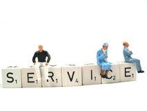 ¡Servicio! Imagen de archivo libre de regalías