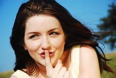 ¡Shh! Foto de archivo libre de regalías