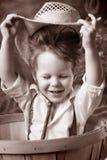 ¡Sombreros apagado a usted! Imagen de archivo libre de regalías