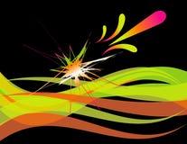 ¡Splat! Ilustración del Vector