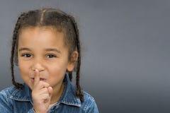 ¡Ssshhh! Fotografía de archivo libre de regalías