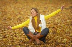 ¡Su otoño! 2 Foto de archivo