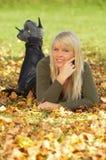 ¡Su otoño! Foto de archivo