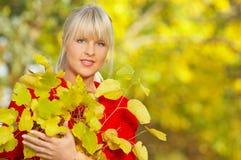 ¡Su otoño! Imagen de archivo
