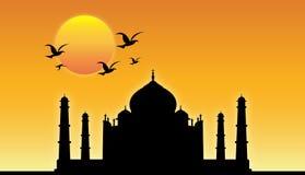¡Taj Mahal! stock de ilustración