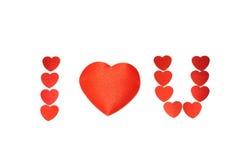 ¡Te amo! Imágenes de archivo libres de regalías