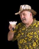 ¡Tenía uno demasiados Margaritas! Imagen de archivo libre de regalías