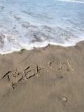 ¡Tenga cuidado para la onda! fotografía de archivo libre de regalías