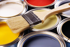 ¡Tiempo de la pintura! fotos de archivo libres de regalías