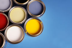 ¡Tiempo de la pintura! Foto de archivo libre de regalías