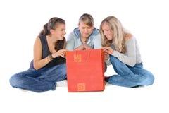 ¡Tiempo de las compras! Fotos de archivo libres de regalías