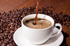 ¡Tiempo del café! Fotos de archivo libres de regalías