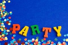 ¡Tiempo del partido! Imagen de archivo libre de regalías