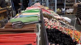 ¡tienda del caramelo! foto de archivo
