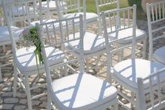¡Tome su sientan y deje comienzo de la boda! Imagen de archivo libre de regalías