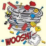 ¡Tornado! ilustración del vector