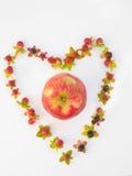 ¡Un Apple al día! Foto de archivo