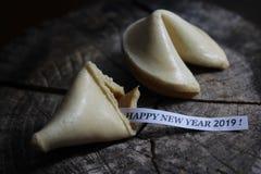 ¡Una Feliz Año Nuevo 2019! imágenes de archivo libres de regalías