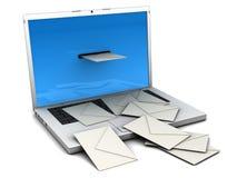 ¡Usted consiguió el correo! Imágenes de archivo libres de regalías