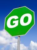 ¡Va el verde! Imagen de archivo libre de regalías