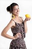¡Van los limones! Imagenes de archivo