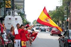 ¡Viva Espana! Foto de archivo libre de regalías