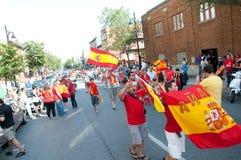 ¡Viva Espana! Imagen de archivo