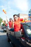 ¡Viva Espana! Fotografía de archivo