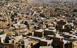 « Ville d'or » - Jaisalmer Photos stock
