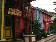 «Turkistan gościa restauracji «Mini domy W Istanbuł, Turcja obrazy stock