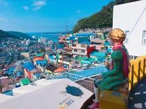 ° do 'do 부ì de Busan fotografia de stock