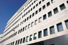 ° moderno Milano, Ialy del edificio del ° de las OFICINAS Foto de archivo libre de regalías