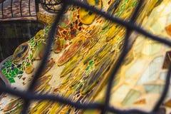 ³ Batllà Касы - мозаика стоковые фотографии rf
