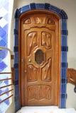 ³ em Barcelona, o trabalho de Batllà da casa do arquiteto Gaudi imagens de stock royalty free