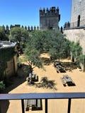³ la varietà del RÃo di Castillo de Almodà - fortifichi nel ³ la varietà del RÃo, Spagna di Almodà fotografie stock libere da diritti